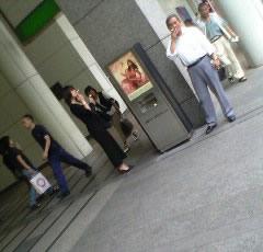 喫煙スタンド